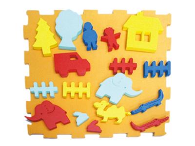 【送料無料】【無料健康相談付】くっつきテープの動物ランド「壁面用」 【安心の知育玩具 一歩(はじめ)社製】