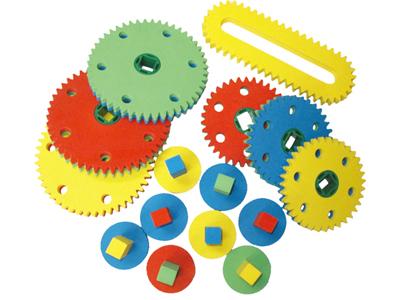【送料無料】【無料健康相談 対象製品】安全ギアブロック 【安心の知育玩具 一歩(はじめ)社製】