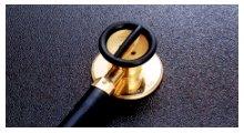 【送料無料】【無料健康相談 対象製品】【ケンツメディコ】 医療用聴診器 ステレオフォネット ゴールド NO171