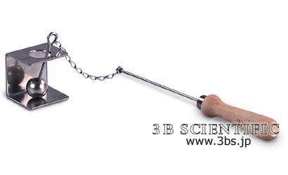 【送料無料】【感謝価格】熱膨張実験用・金属環と鋼球
