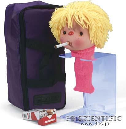 【送料無料】【無料健康相談付】喫煙スーちゃん -喫煙の危険性-