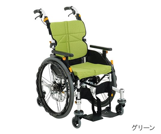 ネクストコア・くるり(アルミ製自走式・中床用) グリーン