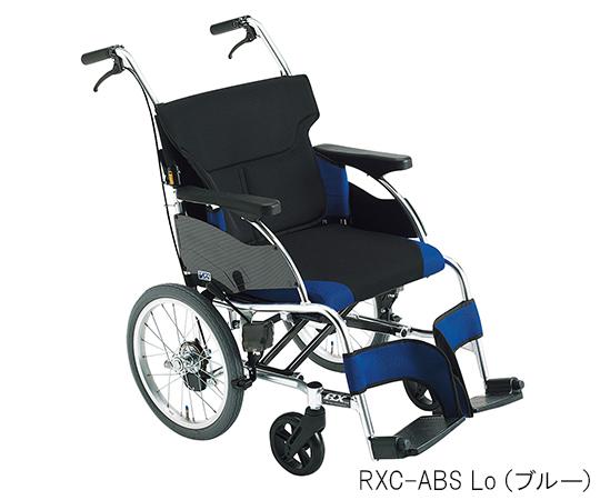 車椅子(アールエックス) ブルー 介助式