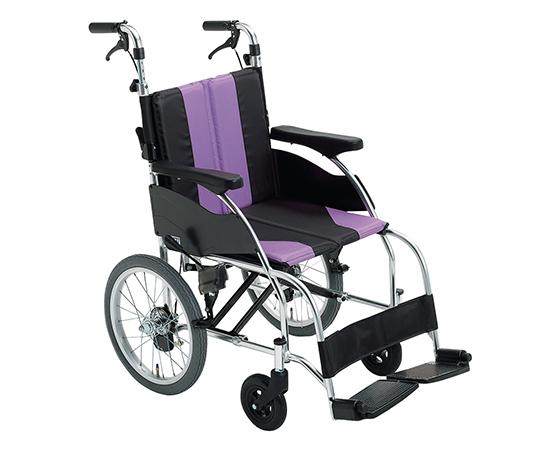 車椅子(アップライト) パープル 介助式