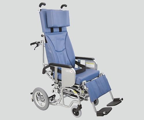 チルト&フルリクライニング車椅子(クリオネット) 青