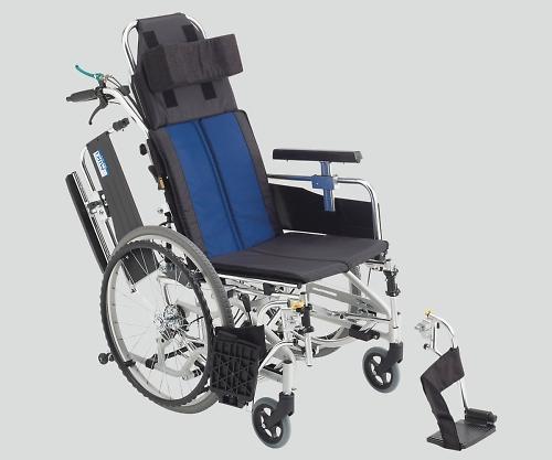 ティルト&リクライニング車椅子(アルミ製) 自走式