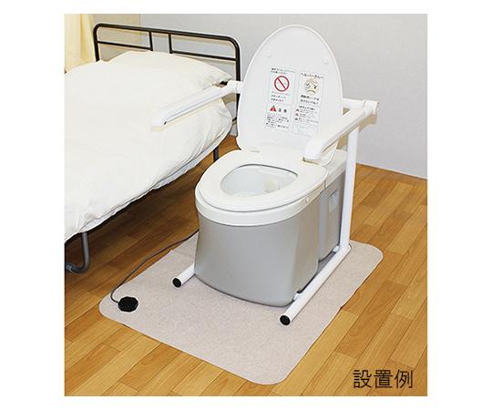 水洗式ポータブルトイレ(流せるポータくん3号) 洗浄便座タイプ