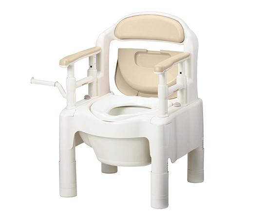ポータブルトイレ FX-CP(ちびくまくん) 補高スペーサーなし ベージュ
