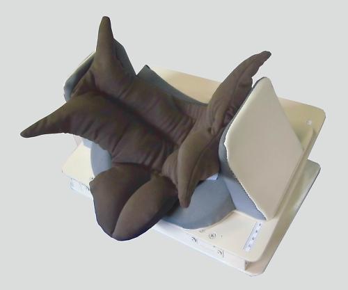 不随意運動イージースワロー(嚥下枕) 350×300×140~210