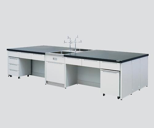 中央実験台HDOC-2412       【特大配送料別途】