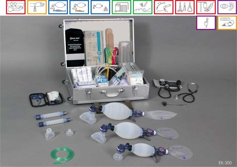 【送料無料】【無料健康相談 対象製品】【ブルークロス社】 救急医療セット EK-300