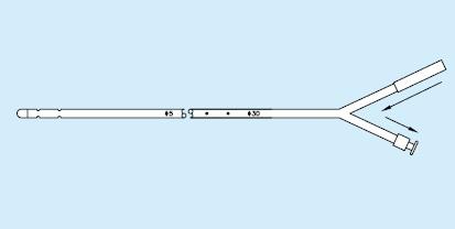 【送料無料】【クリエートメディック】 CMGカテーテル 8Fr 33cm