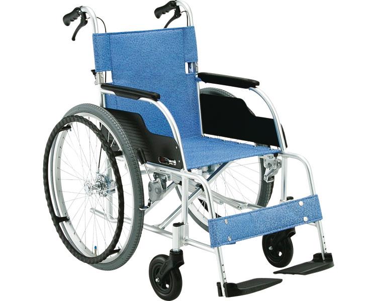 【送料無料】アルミ製スタンダード車椅子 ECO-201B 松永製作所 【非課税】 W1497【02P06Aug16】