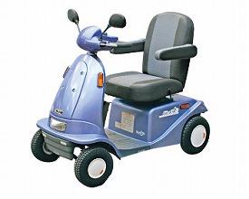 【送料無料】電動車いす マイピア BT40B ブルー アテックス 【非課税】 W0728【02P06Aug16】