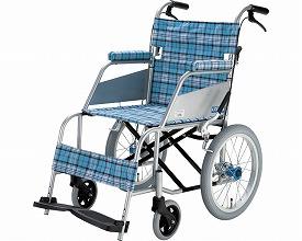 【送料無料】KARL(カール) 介助式 KW-903B スカッシュ・ブルー 片山車椅子製作所 【非課税】 W1157【02P06Aug16】