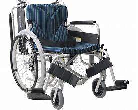 【送料無料】簡易モジュール車いす KA822-40B-LO A10 カワムラサイクル 【非課税】 W0026