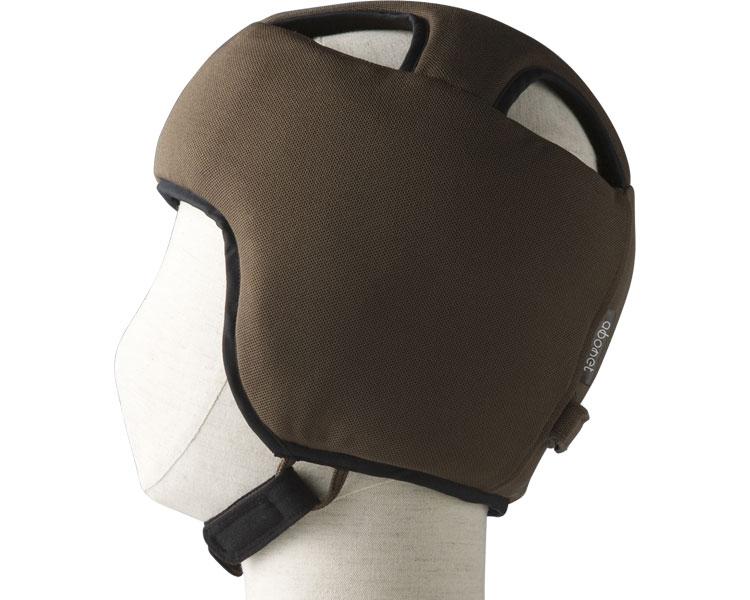 【送料無料】アボネットガードBタイプ(深型) スタンダードN  L 2077 ブラウン 特殊衣料 【非課税】 W1640