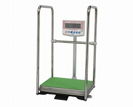 【送料無料】手すり付き デジタル体重計  (国家検定品) DP-7101PW-T 大和製衡 H0474