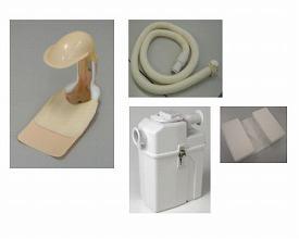 【送料無料】自動排泄処理装置 スマイレット安寝 付属品 スマイル介護機器販売 T0873【02P06Aug16】