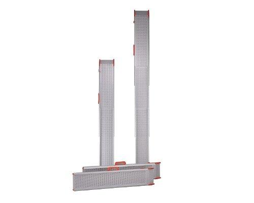 【送料無料】ポータブルスロープ スライドスロープ 2m (2本1組) (ESK200R)【イーストアイ】 W1040【02P06Aug16】
