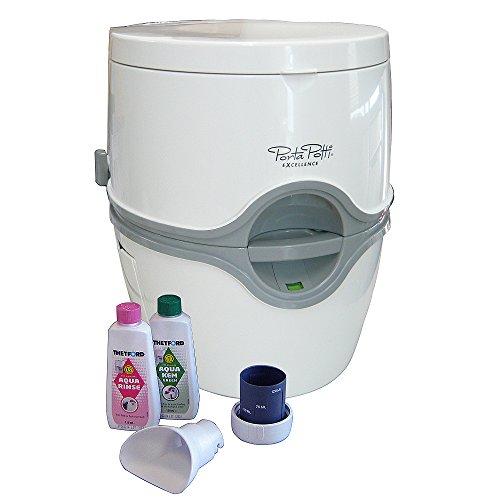 【送料無料】電動水洗式ポータブルトイレ ポルタポッティ (PPE002)【カーメイト】 O0601