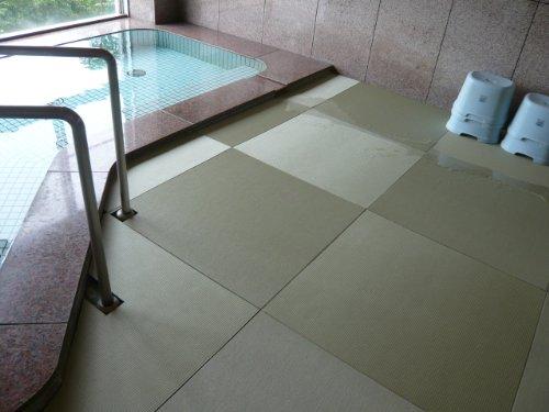 【送料無料】お風呂用畳「湯ったりたたみ」 (TC19070)【極東産機】 O0686