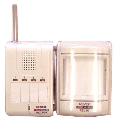 【送料無料】モーションセンサー&携帯受信チャイム (REV140)【リーベックス】 R0573