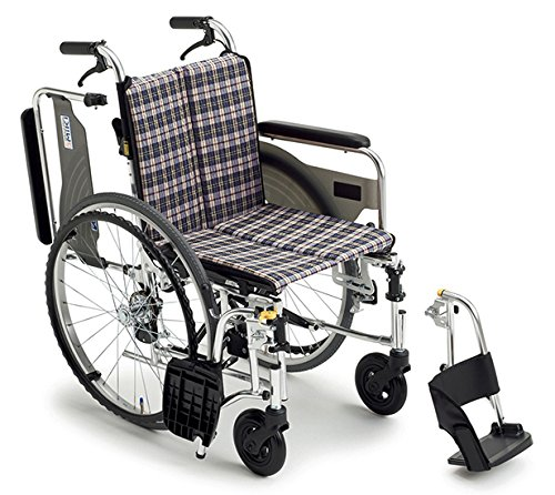 【送料無料】自走式車いす スキット4 (SKT-4 座幅42 A-4)【ミキ】 W1185【02P06Aug16】