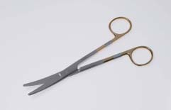 【送料無料】【無料健康相談 対象製品】T/Cエクセル・メーヨ剪刀 14.5cm 曲 医療用ステンレス器具