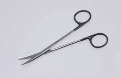 【感謝価格】スーパー・メッツェンバーム剪刀 18cm 曲 医療用ステンレス器具【メール便対応可能】