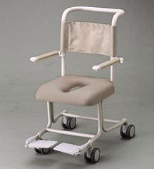 【送料無料】【無料健康相談 対象製品】TOTO 水まわり用車いす(専用シート固定式)ステンレス製