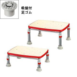 【送料無料】【感謝価格】アロン化成 ステンレス製浴槽台R ソフトクッションタイプ 高さ15-20cm