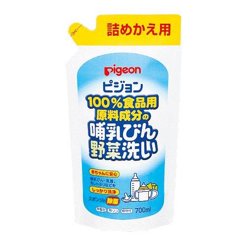 ピジョン P.哺乳瓶野菜洗い 詰替え用 700ML
