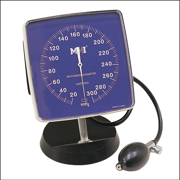 【送料無料】MMI血圧計 大型アネロイド ベット取付用クランプなし MSM270