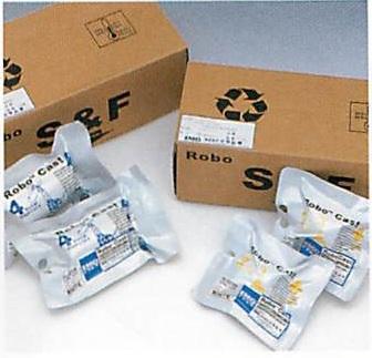 【送料無料】【クイック出荷】ROBOキャスト 安心・安全なキャスティングテープ 12.5cm幅 10巻