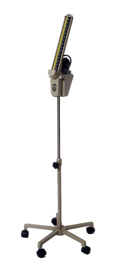 【送料無料】【無料健康相談 対象製品】【1年保証付】[スタンド型水銀血圧計 FC-113 キャスター付]【新機構】