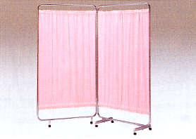 【送料無料】【無料健康相談 対象製品】巾広衝立三つ折り 270×176cm