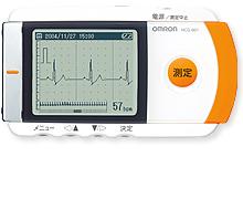 【あす楽】【送料無料】【無料健康相談 対象製品】 オムロン 携帯型心電計 HCG-801   【特定管理】  【02P29Jul16】
