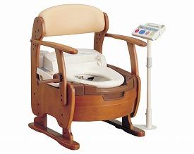 【送料無料】【専門家による1年間の無料介護相談付】家具調トイレ AR-K1(リモコンスタンド付) (533-637) 【fsp2124-6m】【02P06Aug16】