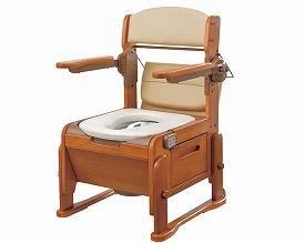 【送料無料】【専門家による1年間の無料介護相談付】家具調トイレ座楽 KH-N型 脱臭ソフト便座タイプ (VAL20412) 【fsp2124-6m】【02P06Aug16】