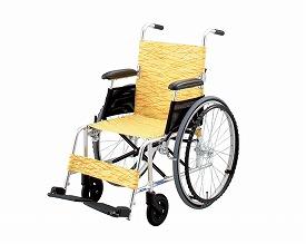 【介援隊カタログ製品】介護製品ならショップデクリニックにお任せ下さい。 【送料無料】【無料健康相談 対象製品】アルミ自走式車いす (NA-L8)