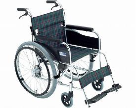 【送料無料】【無料健康相談 対象製品】アルミ自走式車いす (MPN-43JD) 【fsp2124-6m】【02P06Aug16】