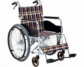 【送料無料】【無料健康相談 対象製品】アルミ自走用車いす Bigサイズ (AR-280) 【fsp2124-6m】【02P06Aug16】