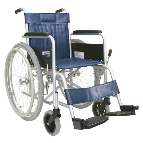 【送料無料】【無料健康相談 対象製品】車いす(スチール製)自走用  背固定・ソフト KR501ソフト