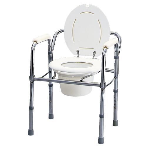 【送料無料】【専門家による1年間の無料介護相談付】アシストトイレ  折りたたみ式 T-8700