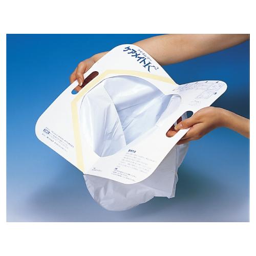 【送料無料】【専門家による1年間の無料介護相談付】使い捨て簡単トイレ ケアメイトK2  30枚×3箱