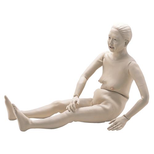 【送料無料】【無料健康相談付】入浴・老人介護・在宅看護実習モデル 小春さん  M100-5【02P06Aug16】