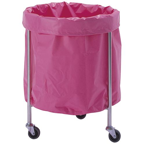 【送料無料】【無料健康相談 対象製品】カラフルランドリーバッグ(丸型)  ピンク AL-P