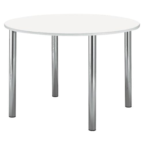 【送料無料】【無料健康相談 対象製品】ナーステーブル(丸型) ピンク φ1500×H900mm NAS-1500RR