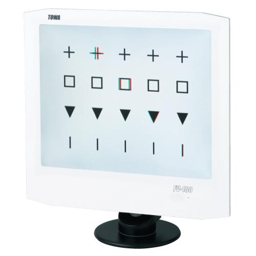 【送料無料】【無料健康相談 対象製品】液晶視力表  FV-100【02P06Aug16】